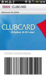 Clubcard Android aplikace - oficiální verze.