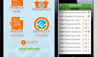 CEFF aplikace pomáhá nakupovat potraviny bez éček
