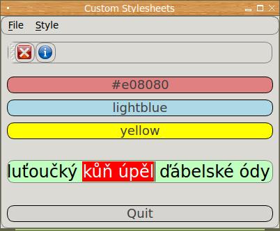 Tvorba GUI v Pythonu: použití kaskádových stylů v PySide