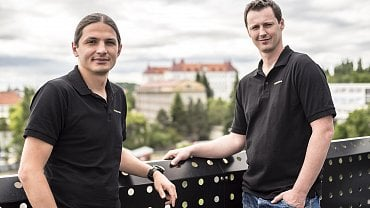 Tomáš Páral (vlevo) a Stanislav Hybášek z MoroSystems.