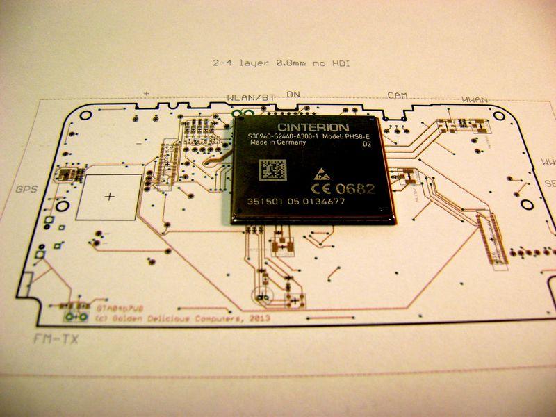 Neo900 prototyp telefonu