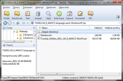 HaoZip je výkonný a funkcemi nabitý nástroj pro práci z archivy z Číny