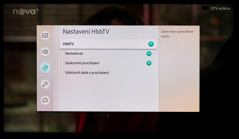 Samsung QE49Q7F - HbbTV