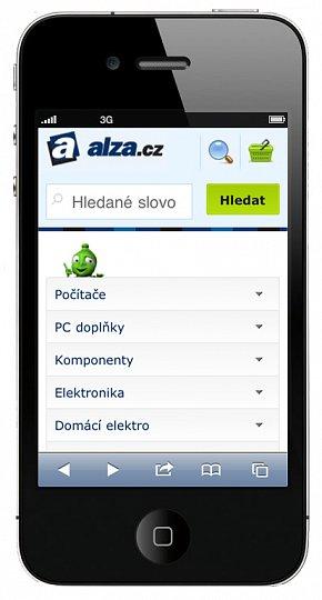 Alza.cz - Mobilní verze e-shopu