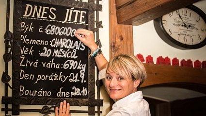 Vitalia.cz: Restaurace Bílá kráva: Víte, co dnes jíte