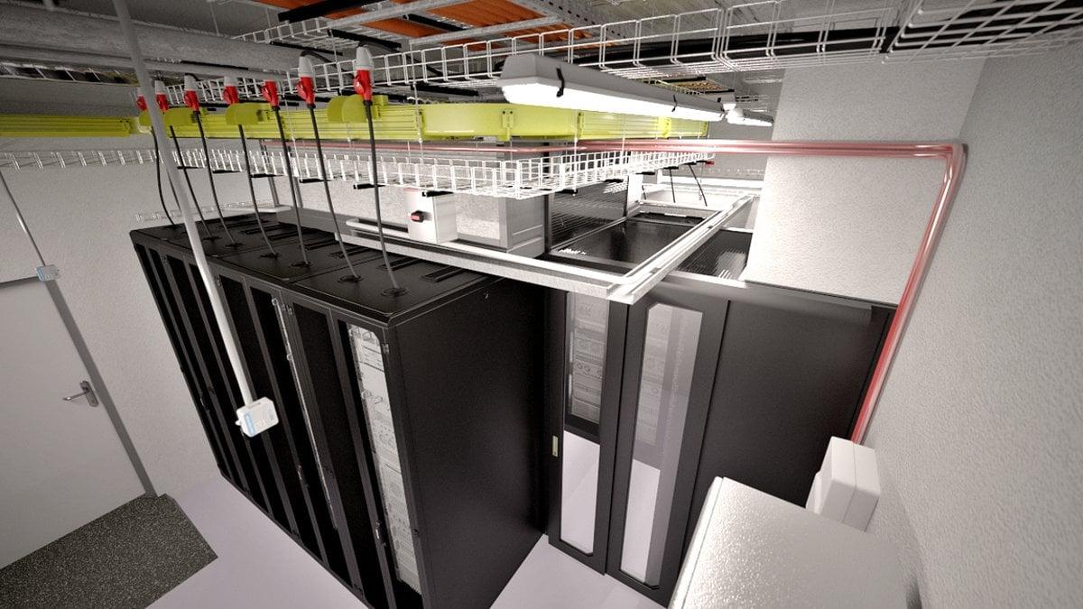 Privátní datový sál: záměr