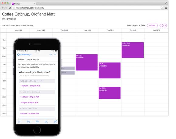 Rozšíření MixMax přidá do mailu řadu velmi užitečných funkcí, jako je třeba možnost okamžitého plánování schůzky.