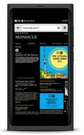 Internetový prohlížeč v Nokia N9