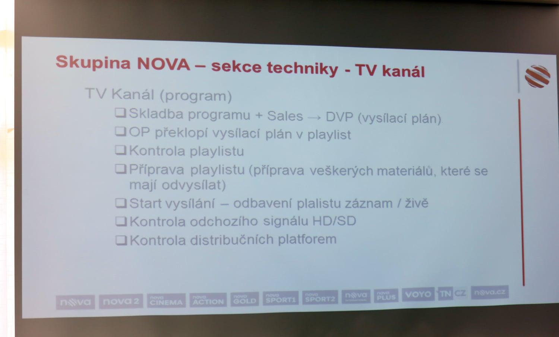 Josef Uher na semináři Digital Broadcasting