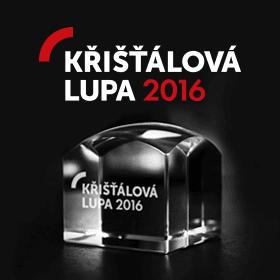 Logo Křišťálová Lupa 2016