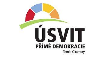 Logo Úsvit přímé demokracie Tomia Okamury
