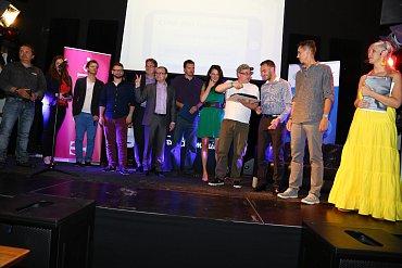 Zástupci všech oceněných aplikací.