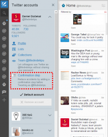 Tweetdeck a ochrana přoti #drunktweet