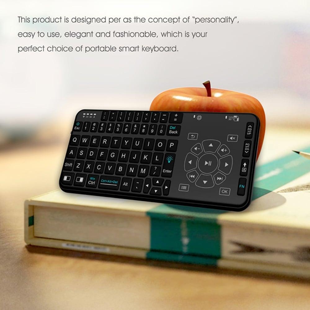 Multimediální podsvícená klávesnice Rii i15 Combo