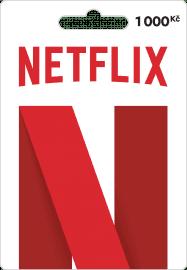Předplacená karta Netflix