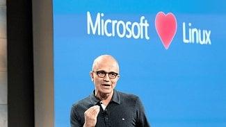 Satya Nadella Microsoft love Linux