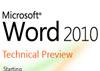 Ilustrační obrázek: První obrázky a informace o Microsoft Office 2010