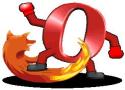Ilustrační obrázek: Firefox vs. Opera - kdo s koho