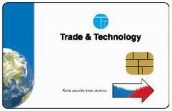 Dekódovací karta pro příjem satelitní digitální platformy Czech Link od společnosti Trade and Technology