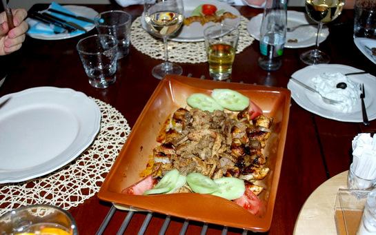 Knossos - jídlo 1