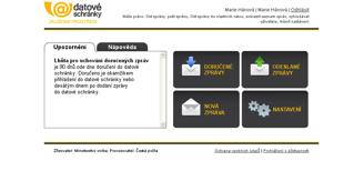 Datové schránky - náhled 2