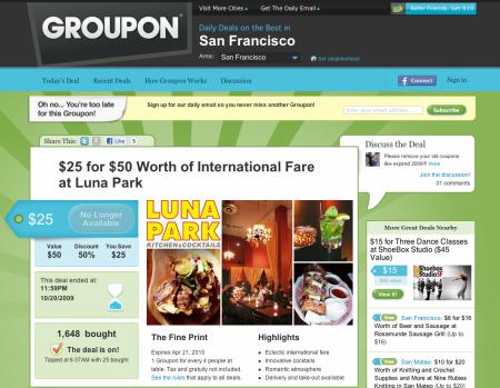 Groupon.com - originál