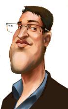 Tomáš Jindříšek - karikatura