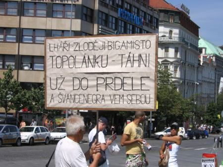 Stávka důchodce