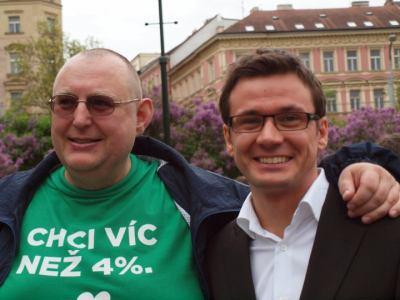 Jiří Hromada, kampaň zelených