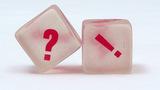 Otazník, vykřičník, otázka, dotaz, anketa
