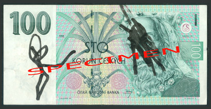 Poškozené bankovky 4