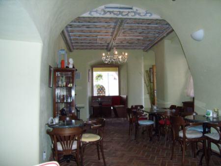 Chocco Caffé interiér