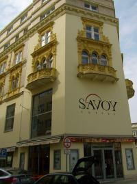 Savoy Brno fasáda