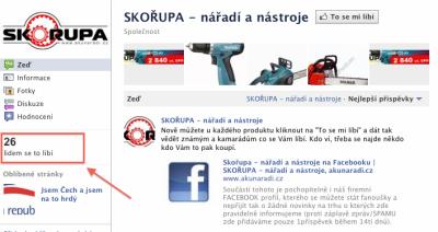 Facebook e-shop