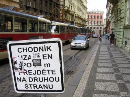 Stávka tramvaj