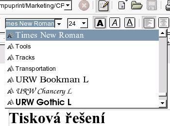 Font config