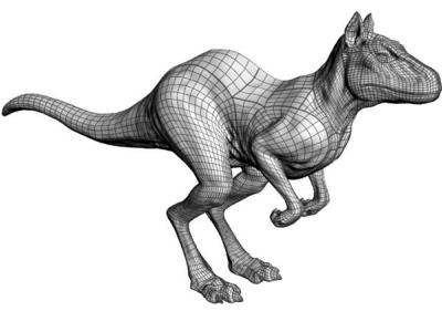 Obrázek 2: Model vytvořený pomocí NURBS ploch