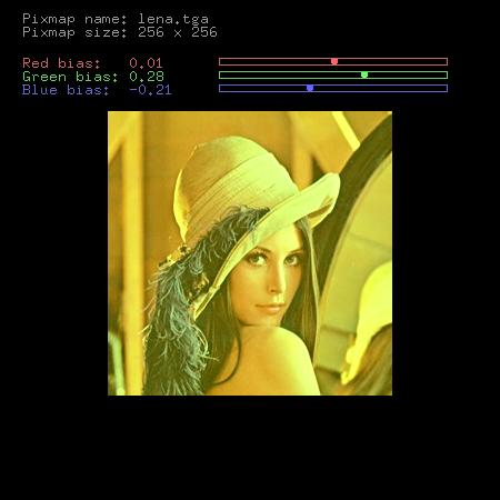 Screenshot třetího demonstračního příkladu