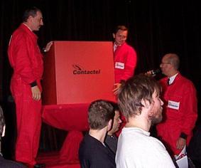 FOTO: Red Box, před otevřením