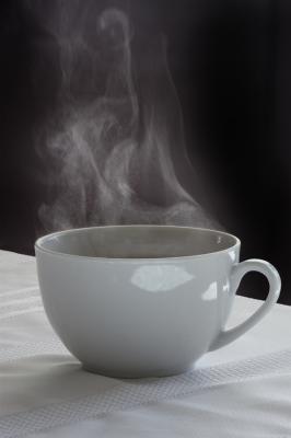 horký čaj