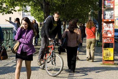 Pražská cyklistika