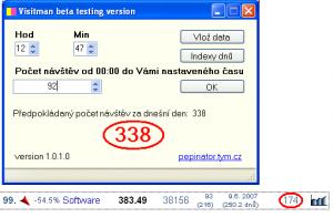Visitman 1.0.2.0 - náhled