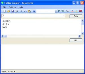 Folder Creator 1.0.2.0 - náhled
