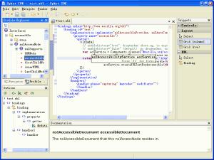 Spket IDE 1.6.18 - náhled