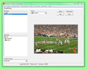 NewView Graphics' File Viewer 7.7 - náhled