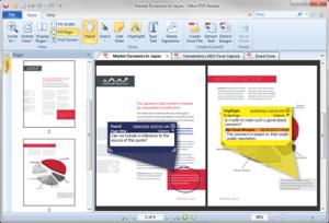 Nitro PDF Reader 5 - náhled
