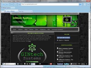 GINternet Explorer 8 Beta - náhled