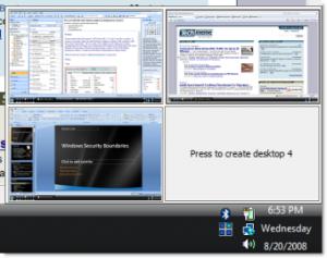 Desktops 1.02 - náhled