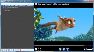 VSO Media Player 1.6.12.521 - náhled
