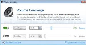 Volume Concierge 1.0.1 - náhled
